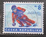 Poštovní známka Česká republika 1998 Skibob Mi# 170