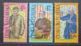 Poštovní známky Česká republika 1998 Osobnosti Mi# 184-86