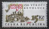 Poštovní známka Česká republika 1998 Revoluce roku 1848, 150. výročí Mi# 189