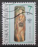 Poštovní známka Česká republika 1999 Lidové umění Mi# 230