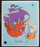 Poštovní známka Grenada 1995 Disney, Mickey Mouse Mi# Block 407