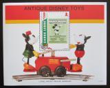Poštovní známka Sierra Leone 1995 Disney, staré hračky Mi# Block 283
