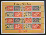 Poštovní známky Sierra Leone 1995 Čínský nový rok, rok prasete Mi# 2271-74 Bogen