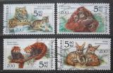 Poštovní známky Česká republika 2001 Zvířata Mi# 299-302