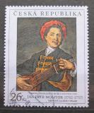 Poštovní známka Česká republika 2002 Umění, Jan Petr Molitur Mi# 344