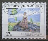 Poštovní známka Česká republika 2003 Umění, Max Švabinský Mi# 382