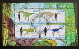Poštovní známky Burundi 2011 Dinosauři Mi# N/N