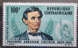 Poštovní známka SAR 1965 Prezident Abraham Lincoln Mi# 73