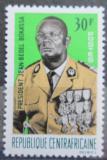 Poštovní známka SAR 1967 Prezident Bokassa Mi# 124