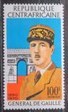 Poštovní známka SAR 1971 Charles de Gaulle Mi# 241