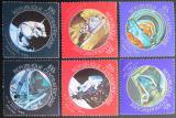 Poštovní známky SAR 1971 Průzkum vesmíru Mi# 248-53 Kat 9.50€