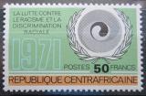 Poštovní známka SAR 1971 Boj proti rasismu Mi# 256