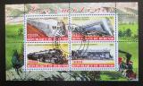 Poštovní známky Burundi 2011 Lokomotivy Mi# N/N