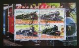 Poštovní známky Poštovní známky Burundi 2011 Lokomotivy Mi# N/N