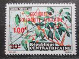 Poštovní známka SAR 1973 Místní flóra přetisk Mi# 321