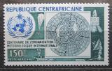 Poštovní známka SAR 1973 Světová meteorologická organizace Mi# 326