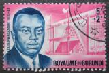 Poštovní známka Burundi 1963 Princ Louis Rwagasore Mi# 46