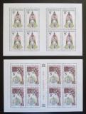 Poštovní známky Česká republika 1996 Krásy naší vlasti Mi# 119-20 Bogen