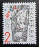 Poštovní známka Česká republika 1994 Mezinárodní rok rodiny Mi# 31