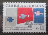Poštovní známka Česká republika 1994 UPU, 120. výročí Mi# 48