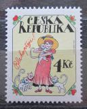 Poštovní známka Česká republika 1997 Pozdrav Mi# 139