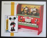 Poštovní známka Guyana 1996 Disney, staré hračky Mi# Block 516