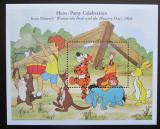 Poštovní známka Svatý Vincent 1998 Disney, Medvídek Pú Mi# Block 454