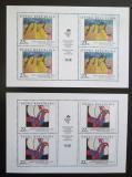 Poštovní známky Česká republika 1998 Umění Mi# 190-91 Bogen
