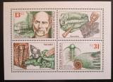 Poštovní známky Česká republika 1999 Joachim Barrande a trilobiti Mi# 221-22 Bogen