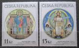 Poštovní známky Česká republika 1999 Beuronská umělecká škola Mi# 234-35