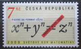 Poštovní známka Česká republika 2000 Světový rok matematiky Mi# 259