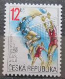 Poštovní známka Česká republika 2001 ME ve volejbale Mi# 290