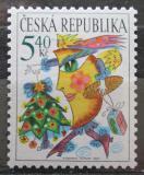 Poštovní známka Česká republika 2001 Vánoce Mi# 311