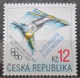 Poštovní známka Česká republika 2002 ZOH Salt Lake City přetisk Mi# 317