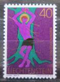 Poštovní známka Lichtenštejnsko 1971 Svatý Sebastián Mi# 543