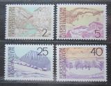 Poštovní známky Lichtenštejnsko 1973 Místní krajina Mi# 596-99 Kat 5.50€