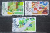 Poštovní známky Lichtenštejnsko 1988 Kampaň pro venkov Mi# 939-41 Kat 5.50€
