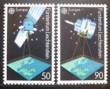 Poštovní známky Lichtenštejnsko 1991 Evropa CEPT, vesmír Mi# 1011-12