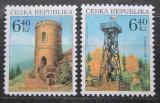 Poštovní známky Česká republika 2003 Rozhledny Mi# 359-60