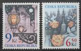 Poštovní známky Česká republika 2003 Pozdravy Mi# 379-80