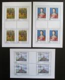Poštovní známky Česká republika 2003 Umění Mi# 382-84 Bogen