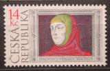 Poštovní známka Česká republika 2004 Francesco Petrarca, básník Mi# 403