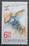 Poštovní známka Česká republika 2004 Letní paralympiáda, hod oštěpem Mi# 405
