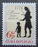 Poštovní známkaČeská republika 2004 Zavedení povinné školní docházky Mi# 412