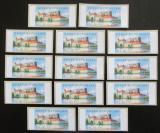 Poštovní známky Česká republika 2005 Zámek Jindřichův Hradec ATM známky Mi# 3
