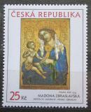 Poštovní známka Česká republika 2006 Umění, Madona Zbraslavská Mi# 461