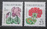 Poštovní známky Česká republika 2007 Květiny Mi# 514-15