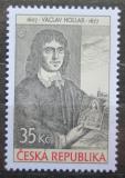 Poštovní známka Česká republika 2007 Václav Hollar Mi# 519