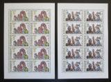 Poštovní známky Česká republika 1998 Evropa CEPT, svátky Mi# 182-83 Bogen