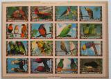 Poštovní známky Umm al-Kuvajn 1972 Ptáci neperf. Mi# 1242-57 B Kat 25€